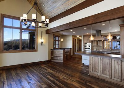 custom home built by rivertree building